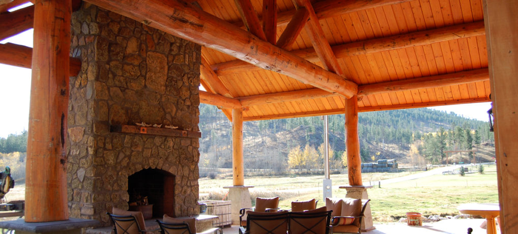 Mickelson Trail Lodge Patio