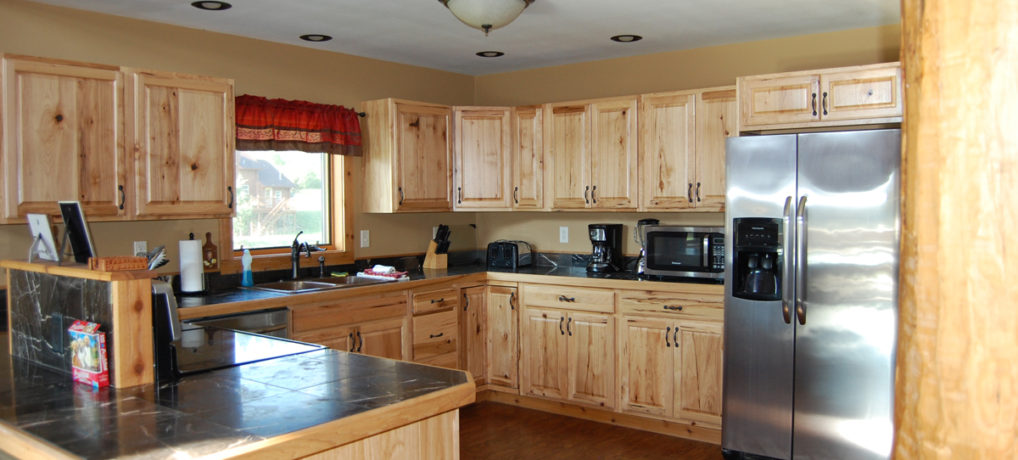 Timber Creek Vacation Cabin Kitchen