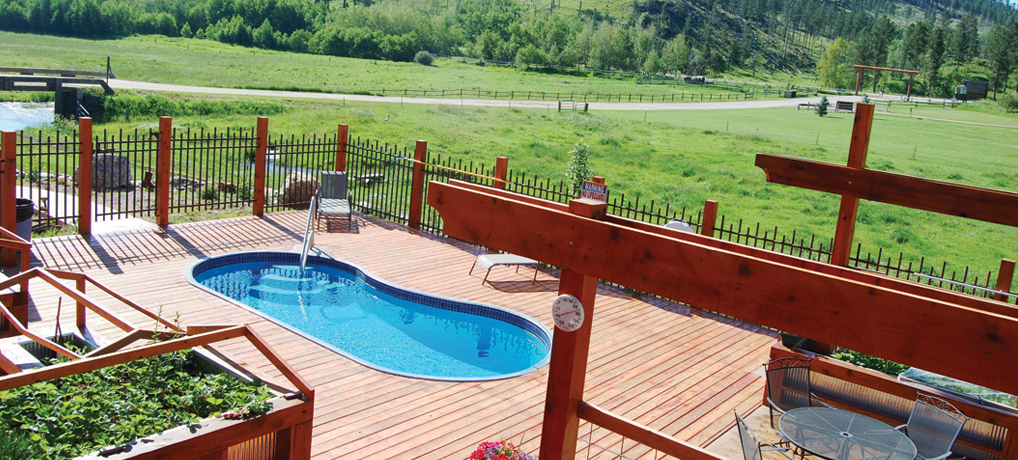Mickelson Trail Lodge Vacation Rental