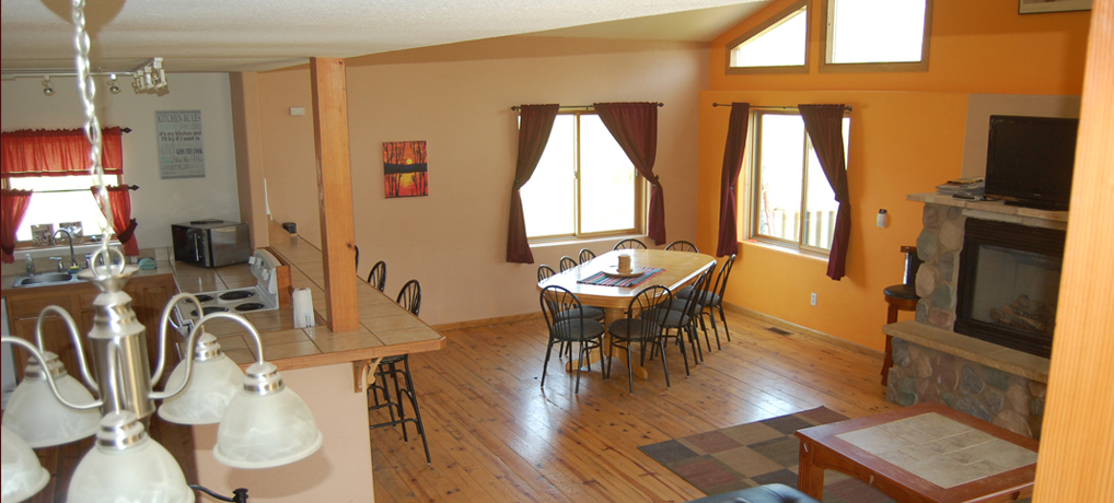 Vacation Rental - McCaskell Cabin Dining