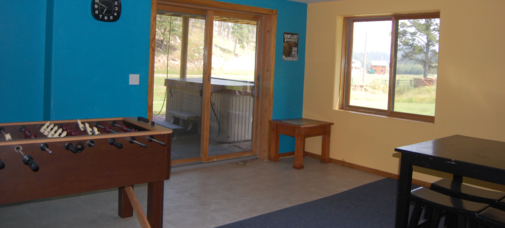 Vacation Rental - McCaskell Cabin Game Room